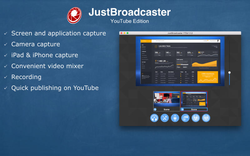 JustBroadcaster for YouTube