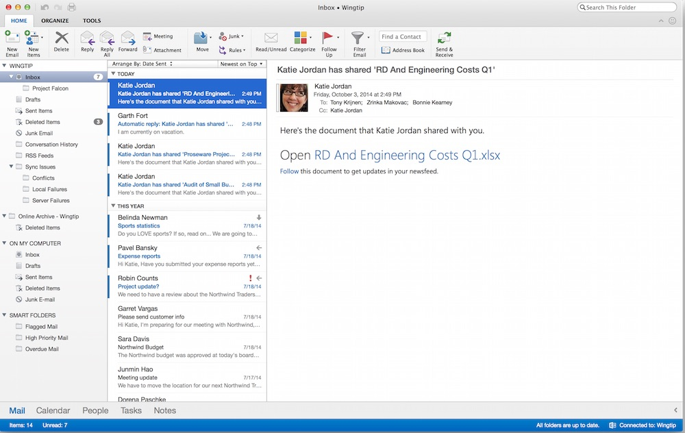 outlook 2016 mac
