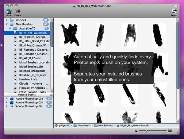 Photoshop brush previewer mac 1 small