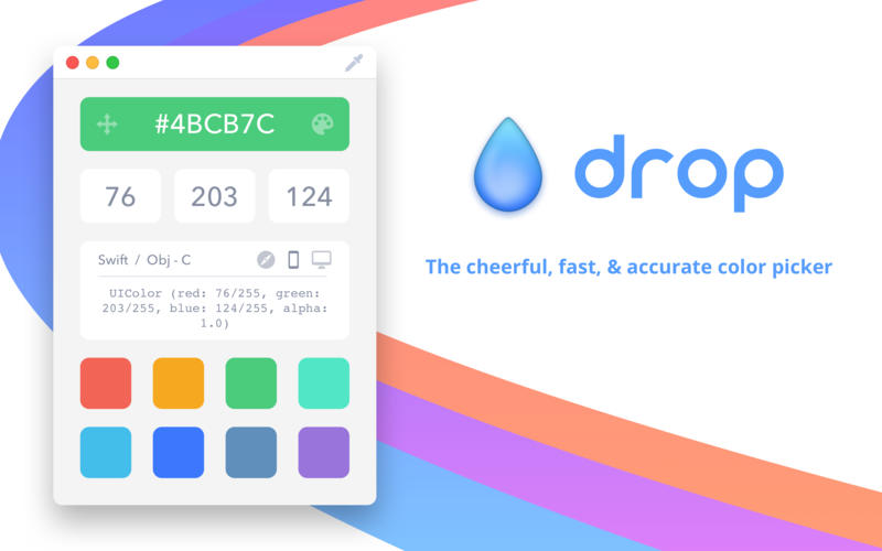 Drop Color picker