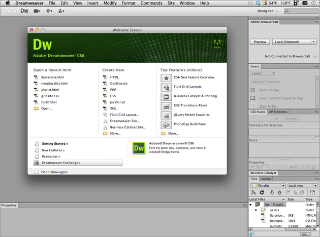 dreamweaver-cs6-splash